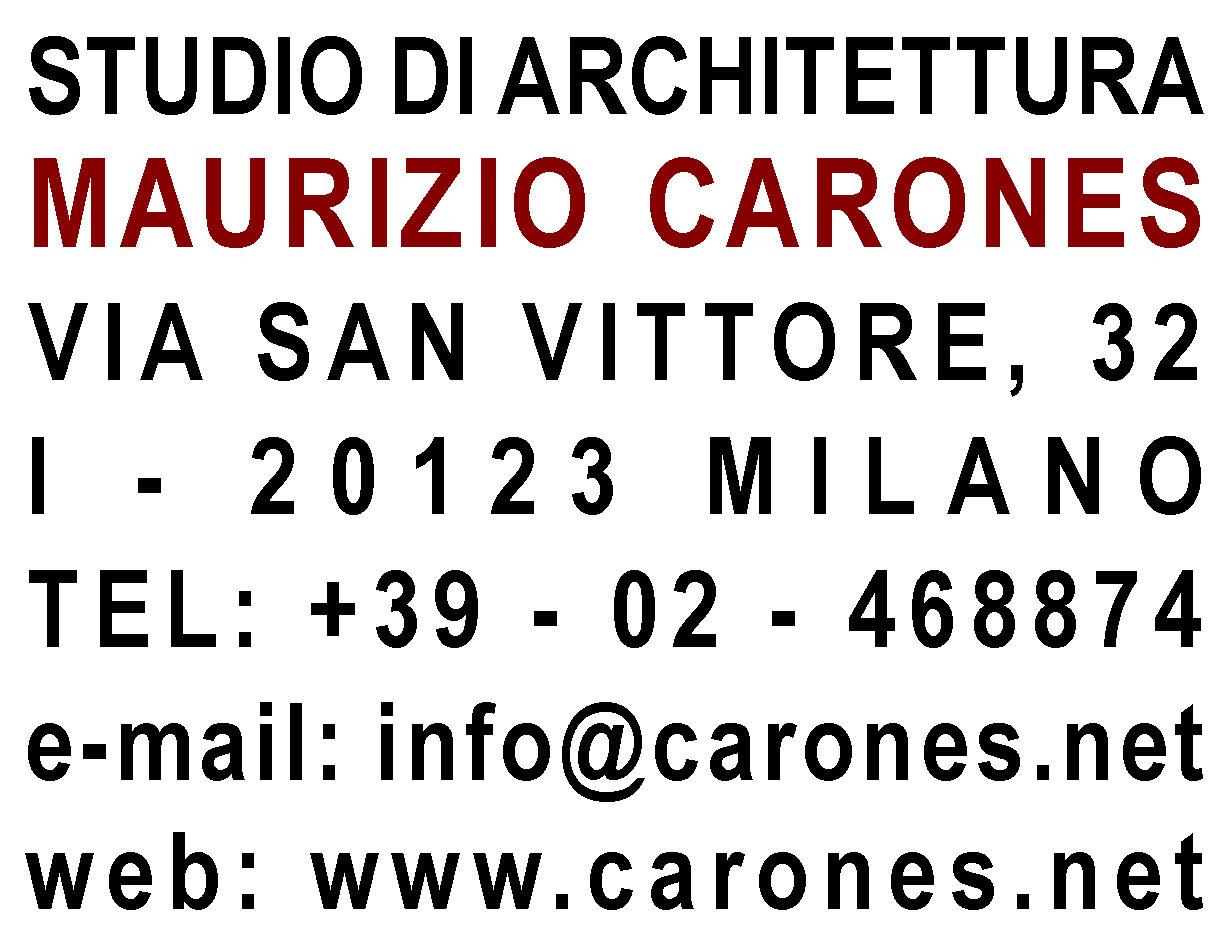 Studio di Architettura Maurizio Carones
